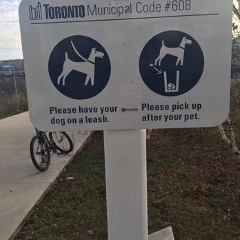 No Dog Poop Sign Canada