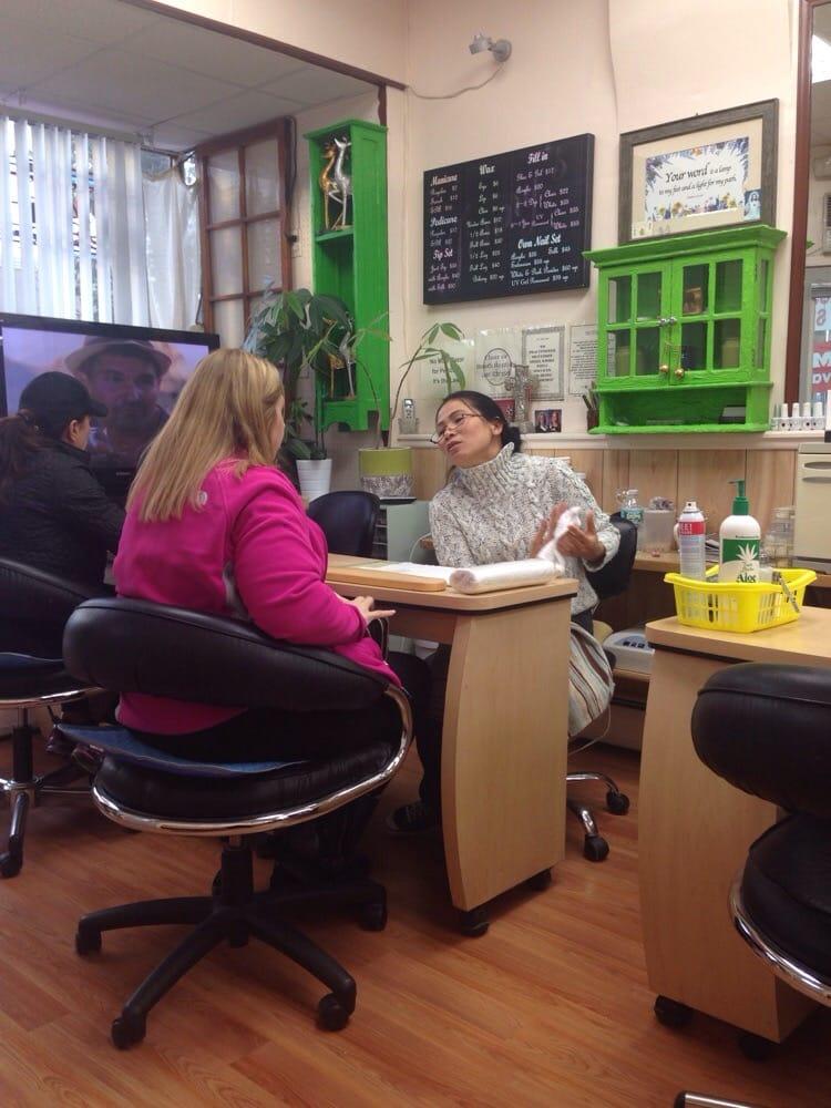 Jenny nails 10 reviews nail salons 684 broadway for About you salon bayonne nj