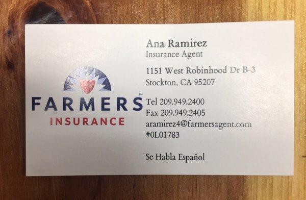 Farmers insurance agency auto insurance 1151 w robinhood dr photo of farmers insurance agency stockton ca united states colourmoves