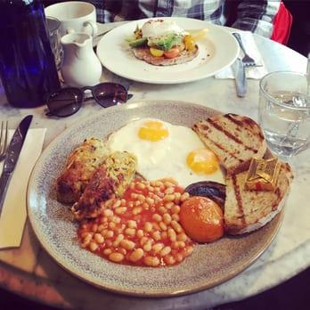 London's Best Vegetarian Fry Ups