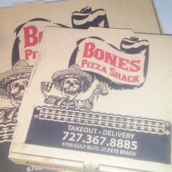 Bones Pizza Shack St Pete Beach Fl