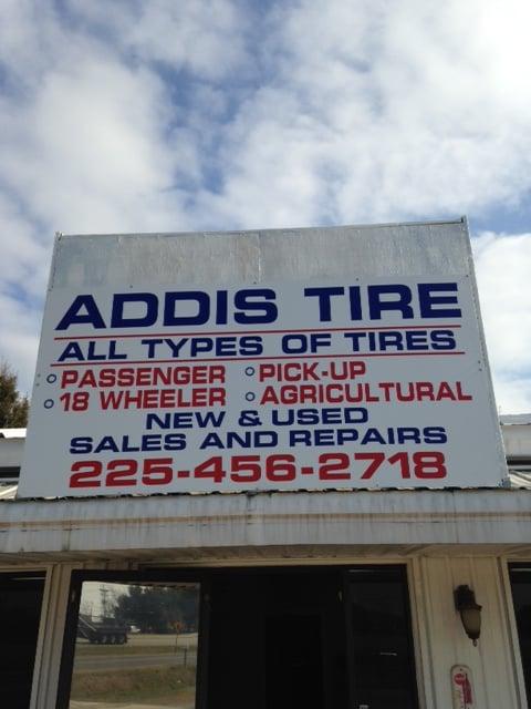 Addis Tire: 7269 Hwy 1 S, Addis, LA