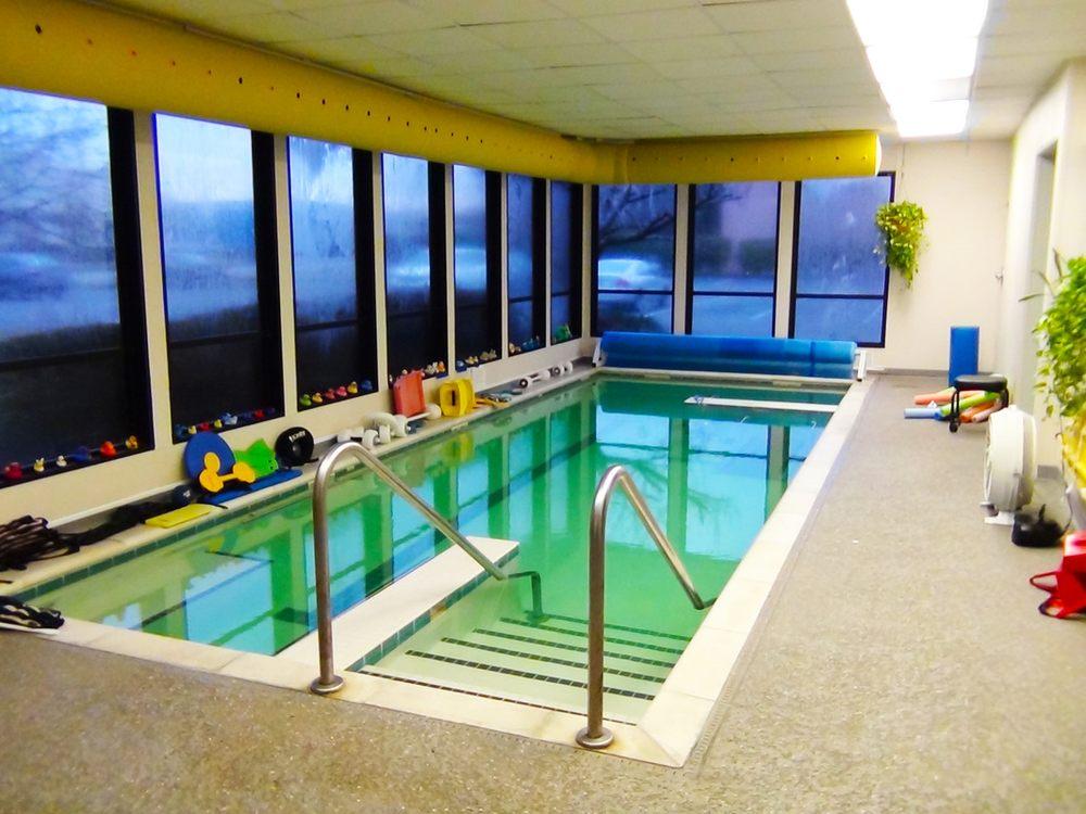 Heated indoor salt water pool temperature remains a - Indoor swimming pool temperature regulations ...