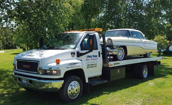 Pro Tow Auto Transport: 132 Carlton Pond Rd, Winthrop, ME