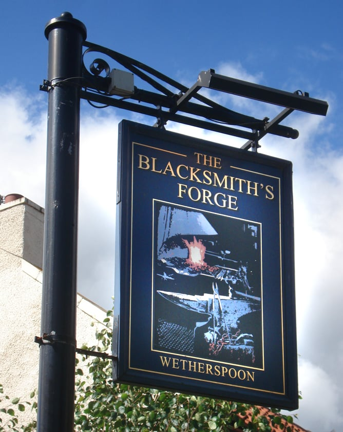 Image result for The Blacksmith`s Forge dalkeith