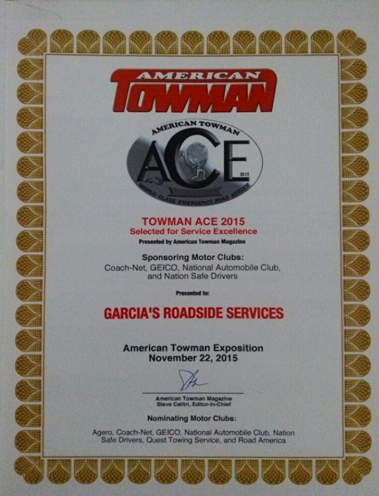 Garcia's Roadside Service Roadside Assistance 526 Cool