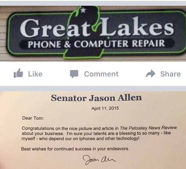 Great Lakes Phone and Computer Repair: 425 Madison St, Petoskey, MI