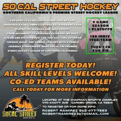 SoCal Street Hockey - (New) 12 Photos - Sports Clubs - 11700
