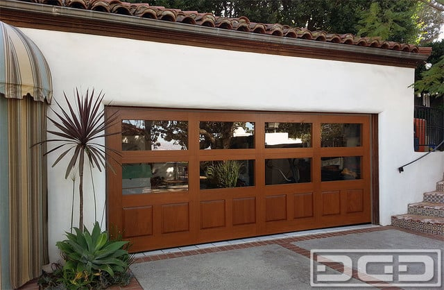Eclectic Spanish Style Garage Doors In Orange County Ca