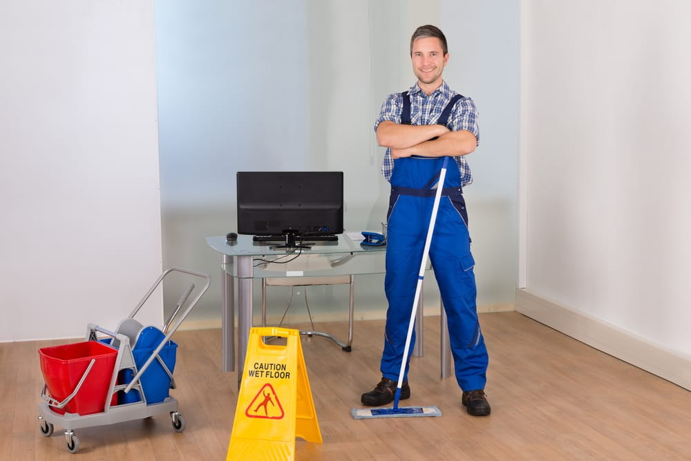 Group Cleaning Services : Spartan cleaning office middletown de