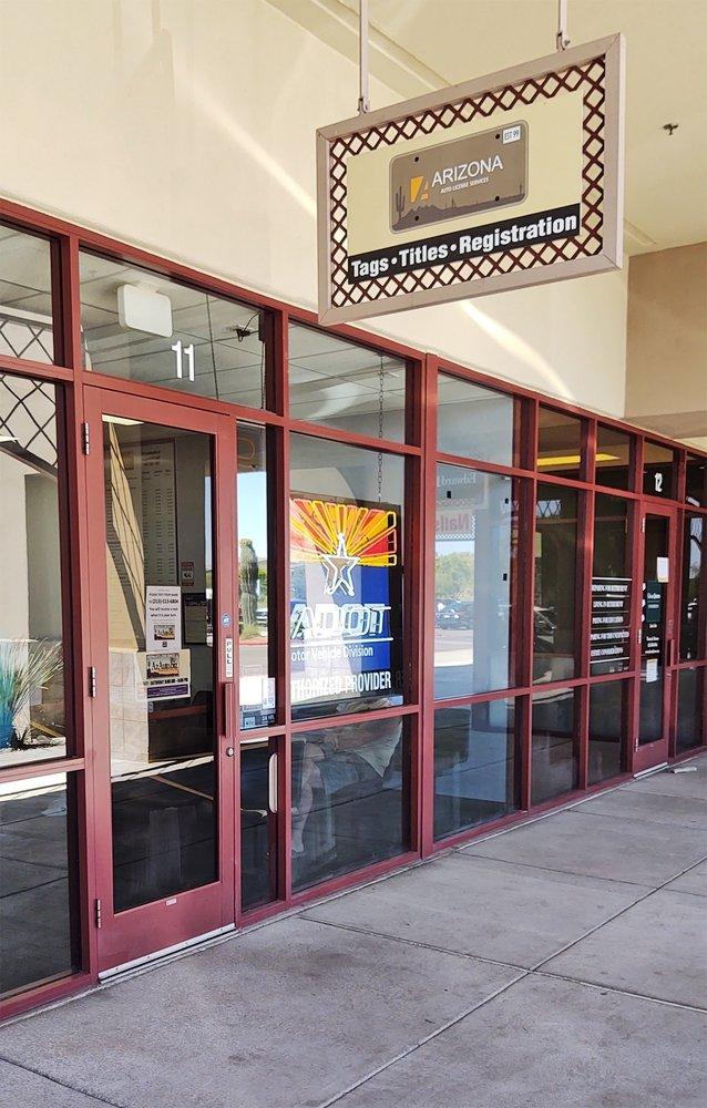 Arizona Auto License Services: 3134 W Carefree Hwy, Phoenix, AZ