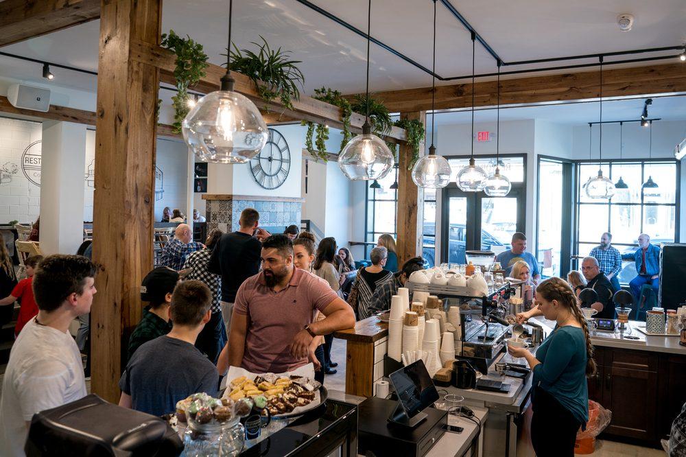 Restoration 44 Coffee Company: 10675 Main St, Mantua, OH