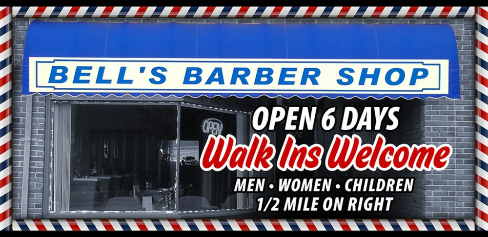 Bell's Barbershop: 1672 State Rd, Cuyahoga Falls, OH