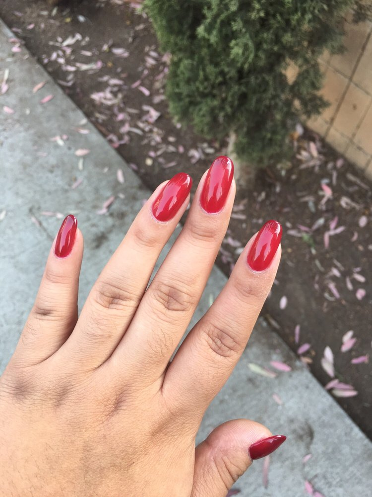 I love my natural nails! Vivian does great gel manicures - Yelp