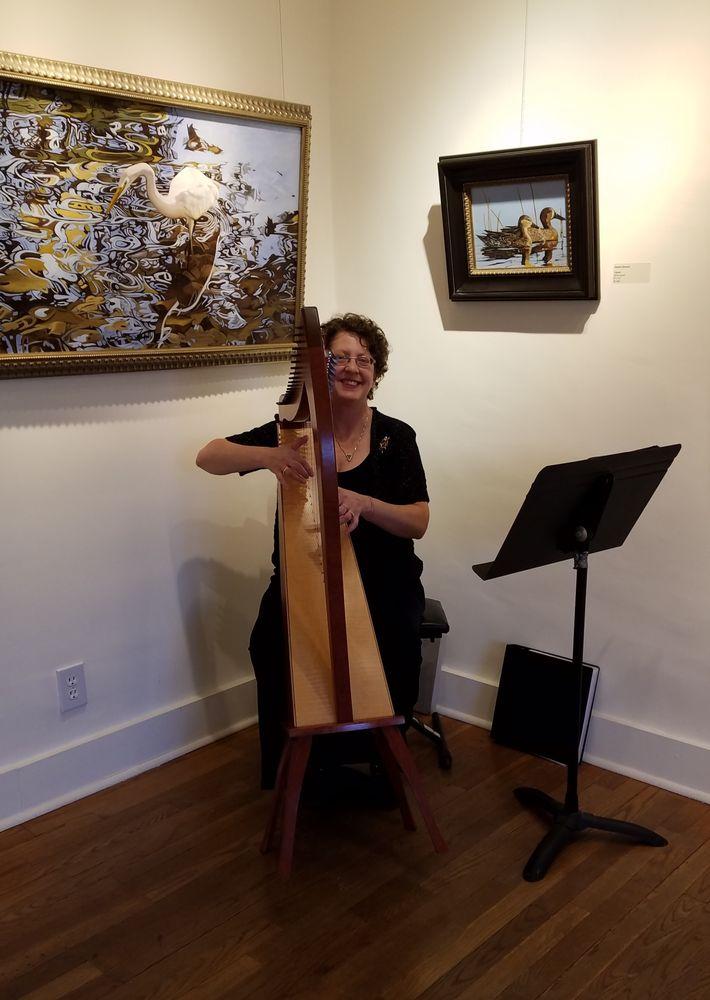 Harpist-Miriam Shilling: Abiquiu, NM