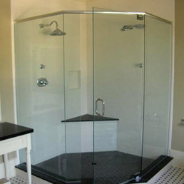 frameless shower door photo of delta glass u0026 mirror co ltd surrey bc canada - Delta Shower Doors