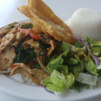 Photo Of Thai Patio   Los Angeles, CA, United States. Spicy Thai Basil