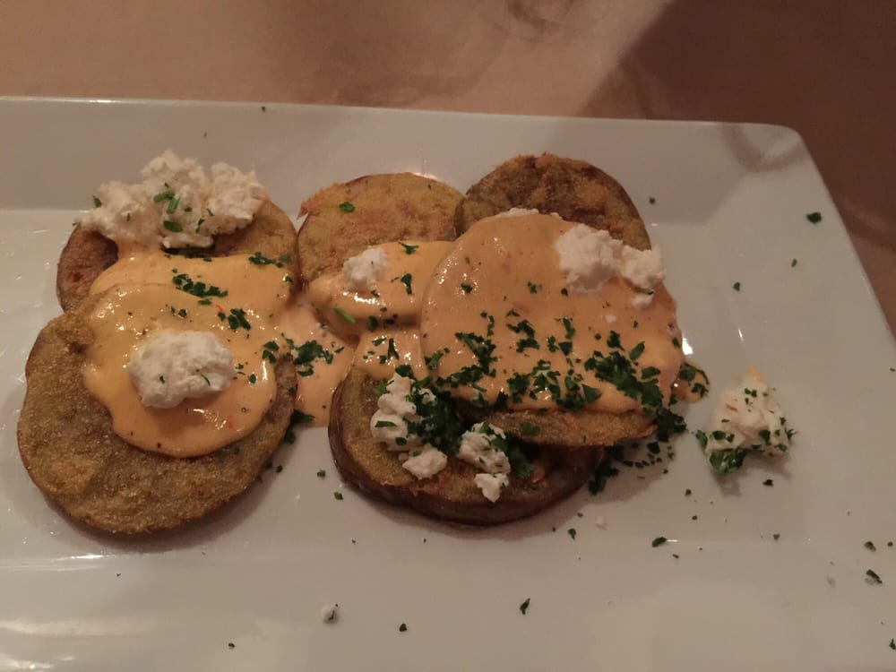 Fried green tomatoes yelp for Fish thyme acworth