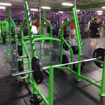 Photo Of Youfit Health Clubs   Miami, FL, United States. Squat Rack