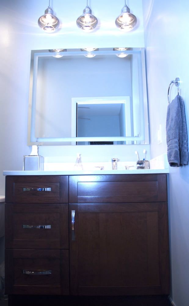 Bathroom renovation in washington d c yelp for Karma home designs