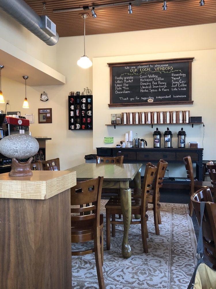 Crossroads Coffeehouse: 2020 Main St, Cross Plains, WI