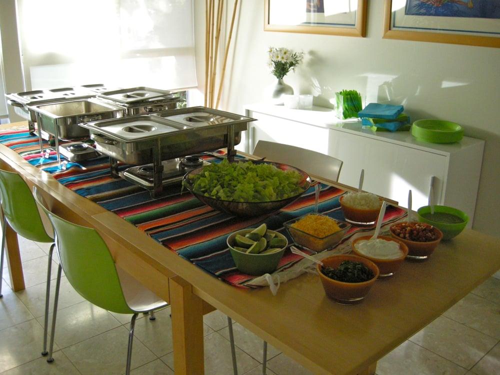 taco bar setup by 220 catering yelp. Black Bedroom Furniture Sets. Home Design Ideas