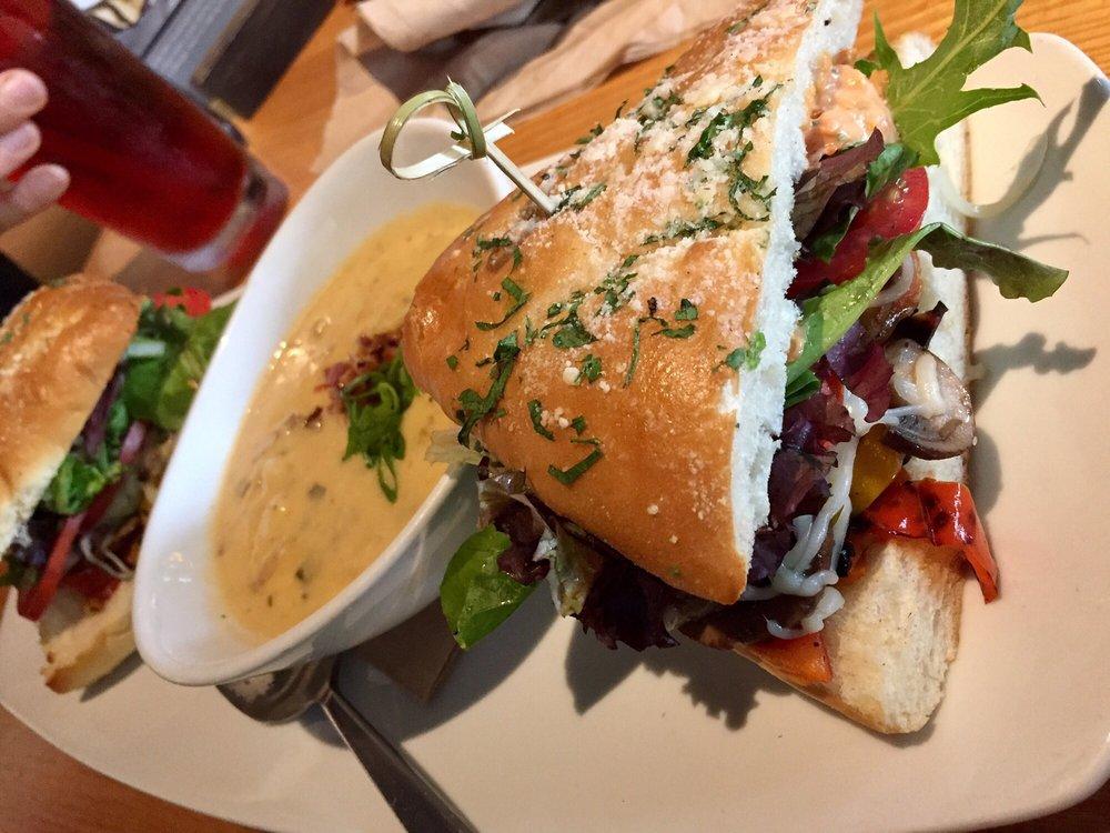 Photo Of California Pizza Kitchen   Bellevue, WA, United States. Grilled  Veggie Sandwich