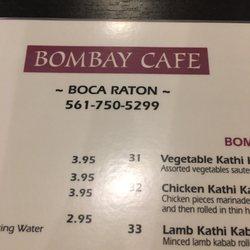 Bombay Cafe Boca Raton Fl