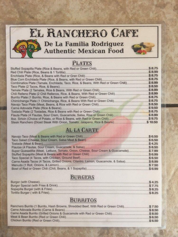 El Ranchero Cafe: 705 Highway 66, Milan, NM