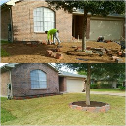 Photo Of Living Water Landscaping   Katy, TX, United States. New Sod And