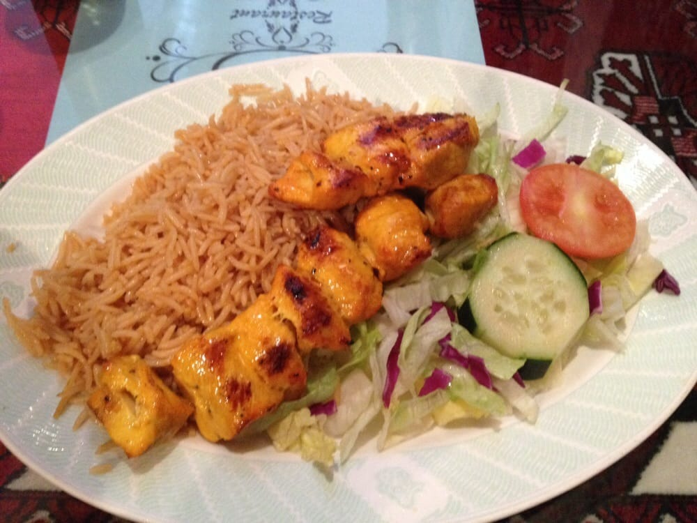 Delicious fragrant rice juicy tender chicken yelp for Ariana afghan cuisine