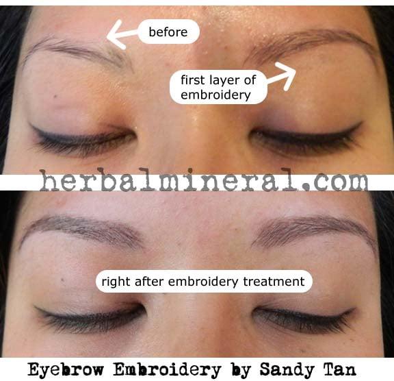 Eyebrow Embroidery Process Yelp