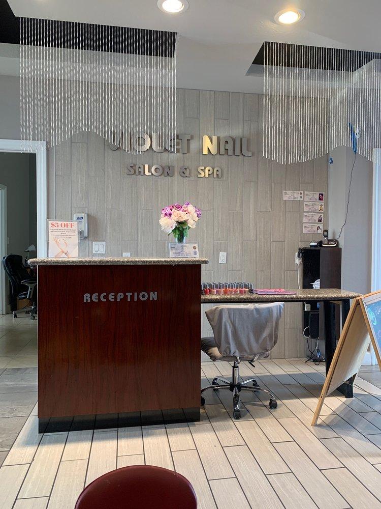 Violet Nails Salon & Spa: 833 W Gaines St, Tallahassee, FL
