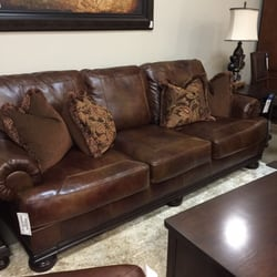 Photo Of Ashley HomeStore   Chattanooga, TN, United States. Beutiful  Leather Couch And