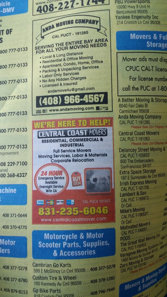 Central Coast Movers