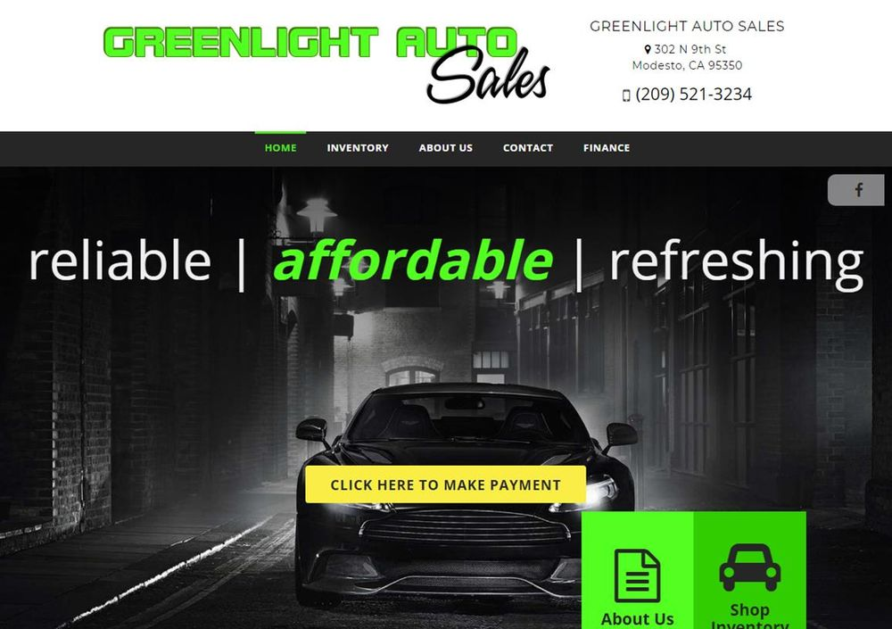 Greenlight Auto Sales >> Greenlight Auto Sales Used Car Dealers 302 N 9th St Modesto Ca