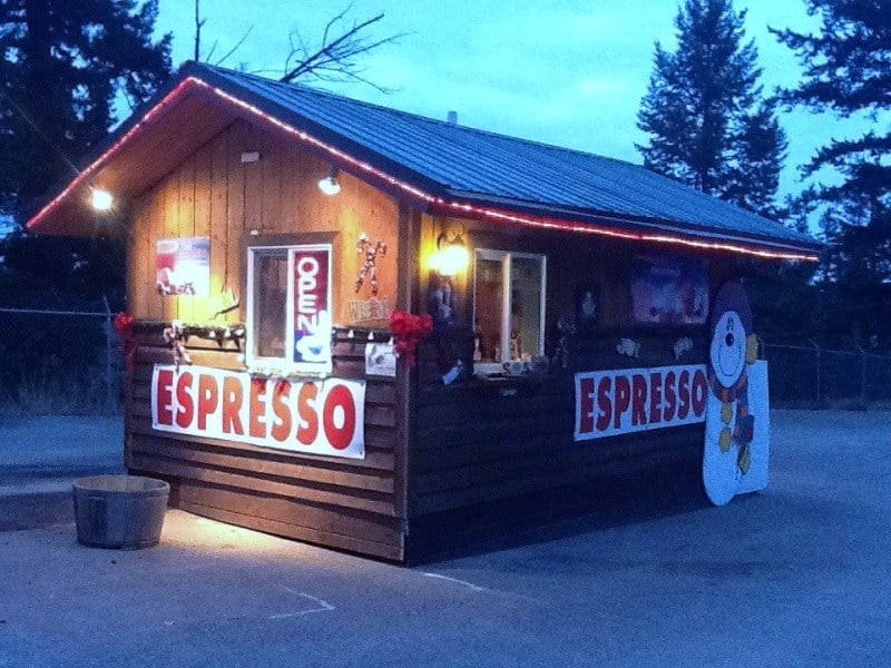 Sudden Rush Espresso: 5215 Hwy 93 S, Somers, MT