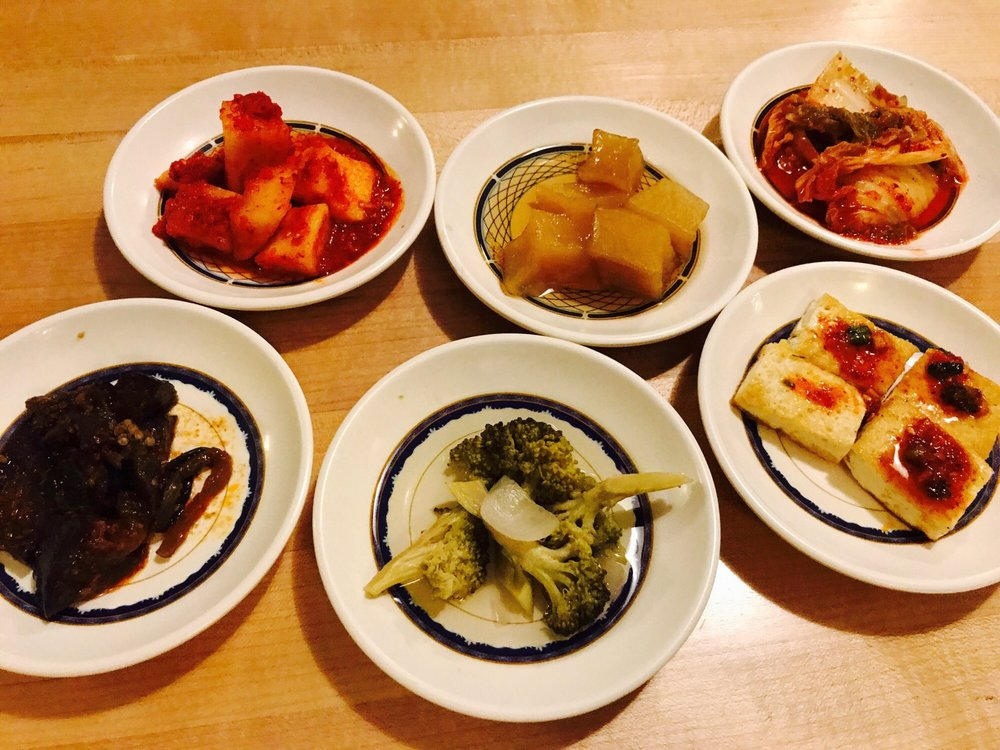 Food from Gangnam