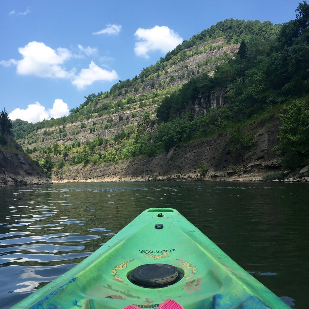 Social Spots from Hatfield-McCoy River Trails