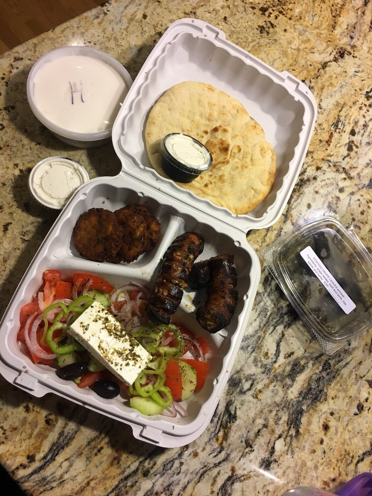 Opa Greek Yeeros: 378 Highland Ave, Somerville, MA