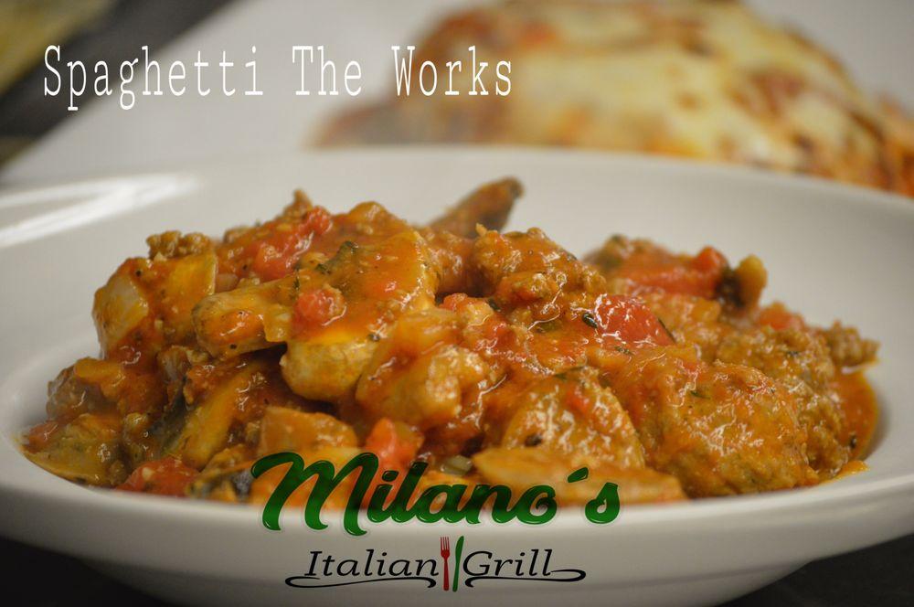 Milano's Italian Grill - Little Rock: 6100 Stones Rd, Little Rock, AR