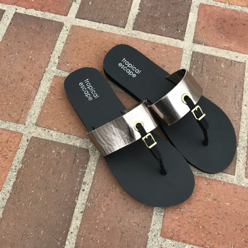 84a2cd6cf Shop New Arrivals Tuesday through Friday. Tropical Sandals only ...