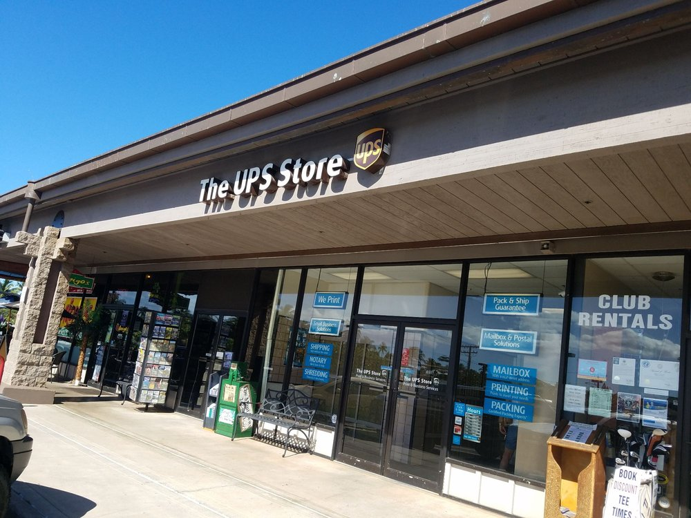 The UPS Store: 1215 S Kihei Rd, Kihei, HI