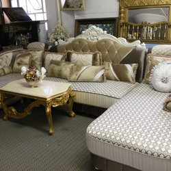 Photo Of Best Home Decorators   Brooklyn, NY, United States. Silk Brocade  Sectional