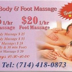 Asian massage santa ana