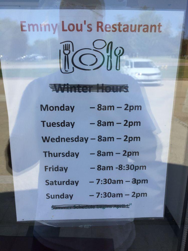 Emmy Lou's Cafe: 11347 Oldenburg Ln, Galena, IL