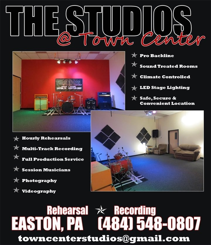 The Studios at Town Center: 324 Town Center Blvd, Easton, PA