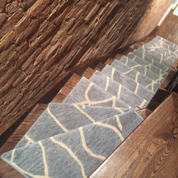 Photo Of Custom Stair Runners   Bohemia, NY, United States. Top View Of