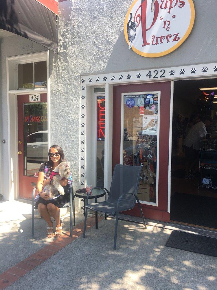Pups n Purrz: 422 1st St, Benicia, CA