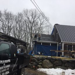 Photo Of A Plus Roofing   Durham, ME, United States. New Standing Seam